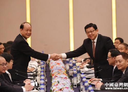 组图:两岸两会领导人第十一次会谈在福州举行