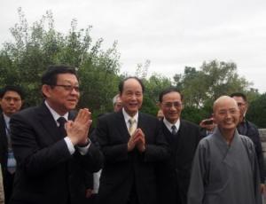 海协会会长陈德铭参访台湾花莲